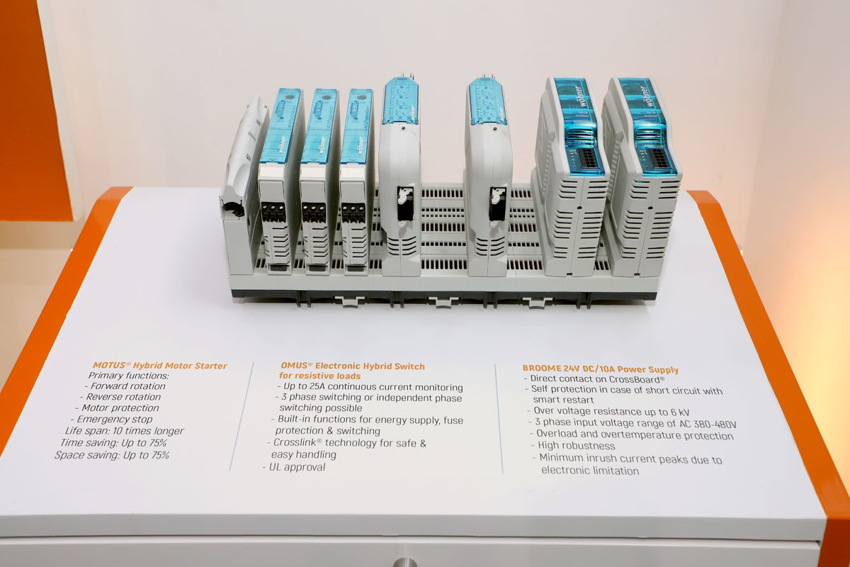 smart electrical distribution control systems