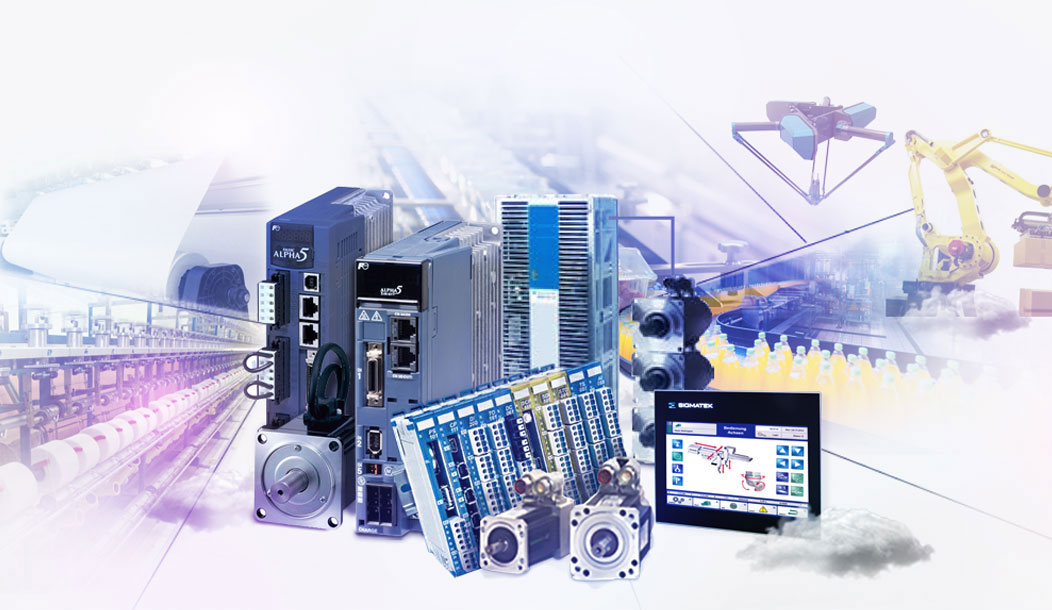 PLC and industrial robots