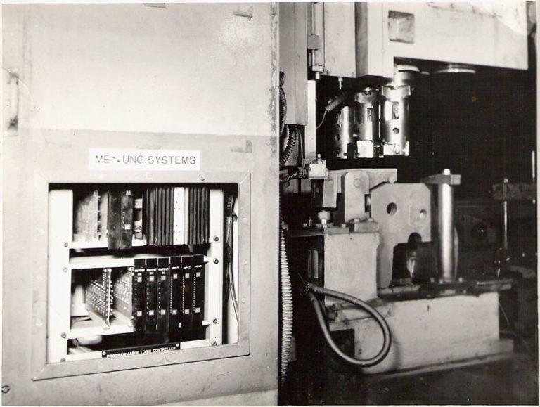 first plc installation kirloskar